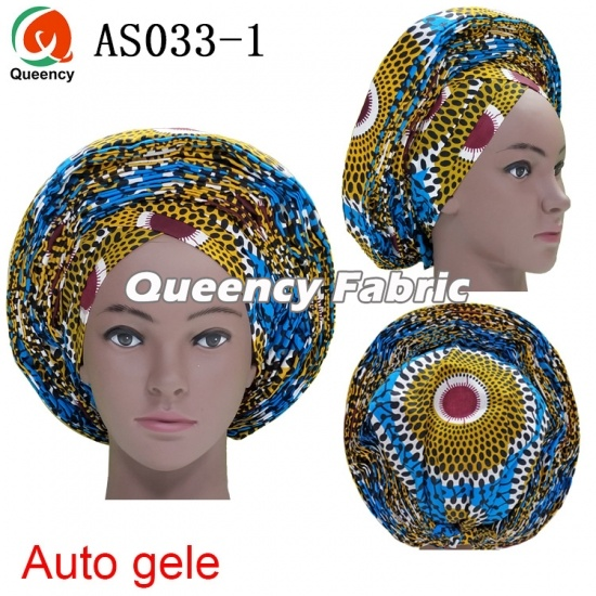 Latest Auto Gele Already Tied Headtie